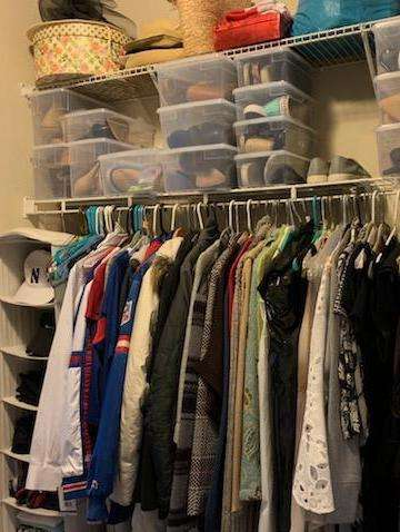 Closet after Neatly Placed LLC