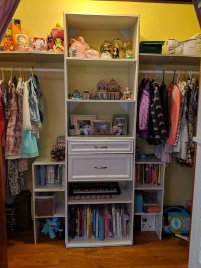 Kids closet after Neatly Placed LLC