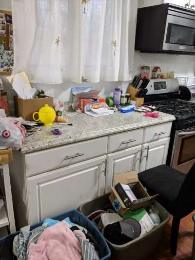 Kitchen Before Neatly Placed LLC
