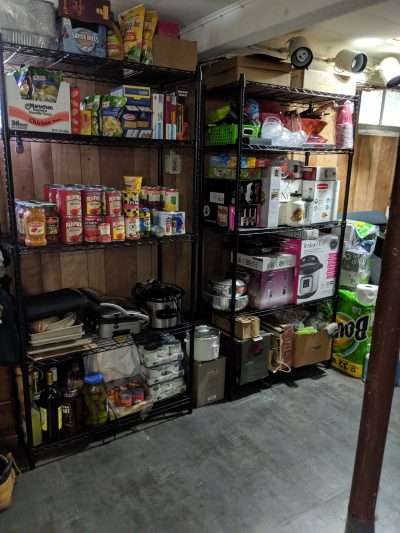 Basement Pantry After Neatly Placed LLC